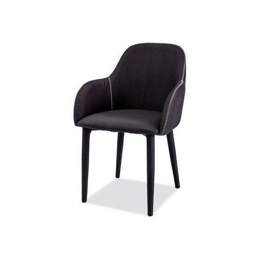 Krzesło Oscar Czarny, kolor czarny