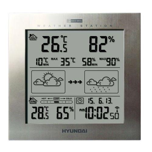 Hyundai Stacja pogody ws2244m srebrny + darmowy transport!