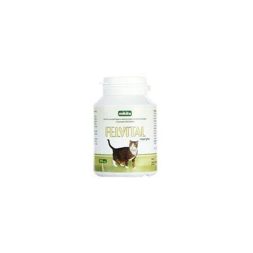 felvital + tauryna - preparat witaminowy z tauryna dla kotów 100tabl. marki Mikita