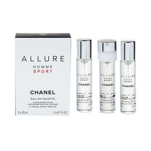 Chanel Allure Homme Sport 3x 20 ml