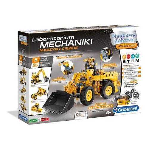 Clementoni Laboratorium mechaniki maszyny ciężkie - darmowa dostawa kiosk ruchu (8005125604654)