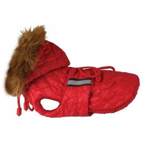 Grande finale  dw23 derka dla psa czerwona alaska serduszka rozm. 0-xxxl końcówka kolekcji
