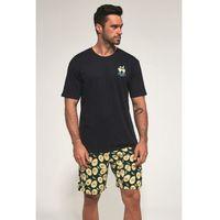 Bawełniana piżama męska Cornette 326/89 Avocado 3 granatowa (5902458147083)