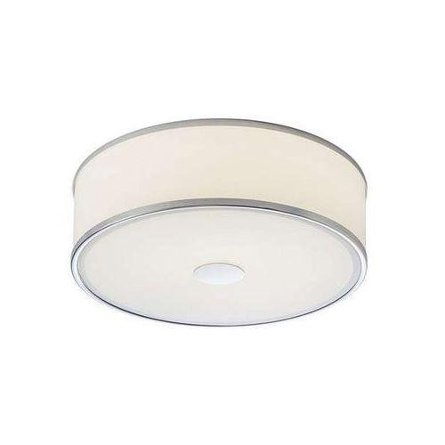 Plafon lampa sufitowa cassablanca r10523  okrągła oprawa łazienkowa chrom biała marki Redlux