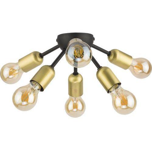 Tklighting Plafon lampa sufitowa edison tk lighting estrella 6x60w e27 czarny / patyna 1467 (5901780514679)