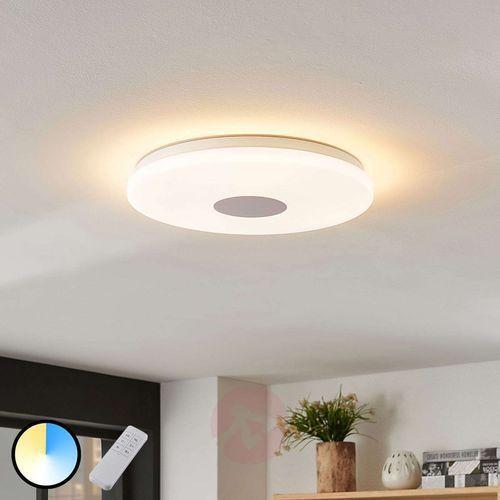Lampenwelt.com Lampa sufitowa led renee, regul. światło 15 w (4251096518467)