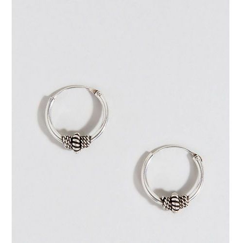 Kingsley Ryan Sterling Silver 10MM Wire Wrapped Hoop Earring - Silver