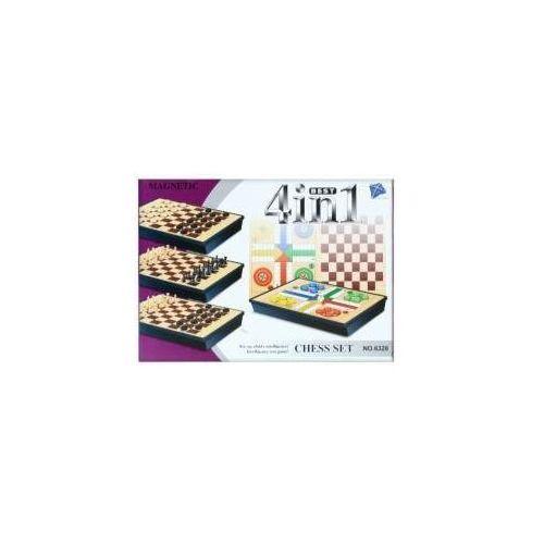 Gra magnetyczne szachy 4w1