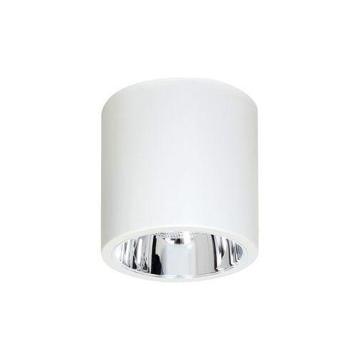 Plafon lampa sufitowa Luminex Downlight Round 1x60W E27 biały 7238 >>> RABATUJEMY do 20% KAŻDE zamówienie!!!