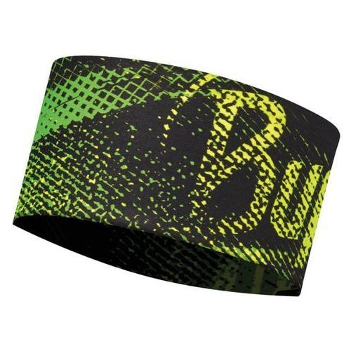 headband uv flash logo yellow - opaska wielofunkcyjna marki Buff