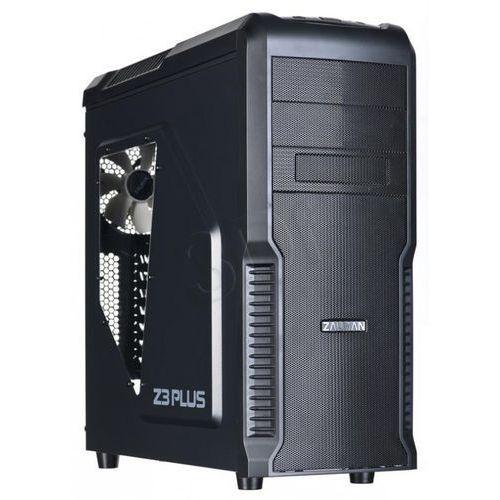 Obudowa Zalman Z3 PLUS, USB3.0, Czarna