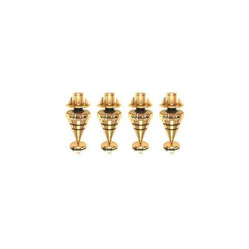 Viablue hs spikes gold m6 - kolce pod kolumny - gold (4048834502051)