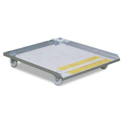 Wózek na rolkach, do stołu do czyszczenia ekologicznego, komfort i duo, dł. x sz marki Denios