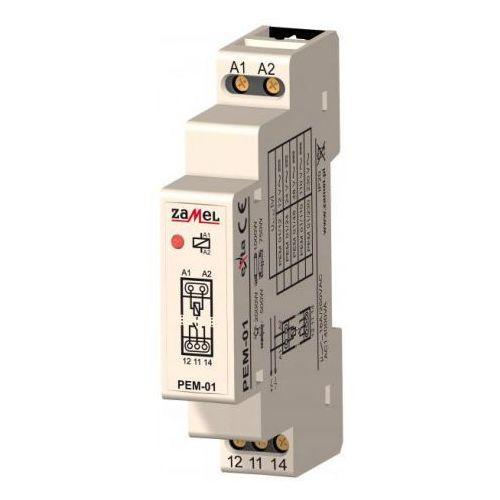 Przekaźnik elektromagnetyczny pem-01/024 24v marki Zamel