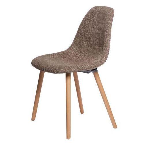 D2.design Krzesło cosy tapicerowane - brązowy