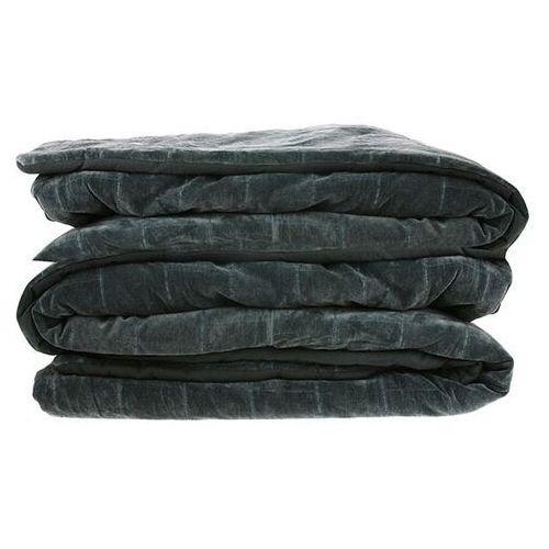 Hkliving miękka bawełniana narzuta na łóżko w kolorze zielono-niebieskim(230x250) tts1016 (8718921023931)