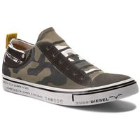 Tenisówki - s-imaginee low slip-on y01700 p1640 h5254 military camou marki Diesel