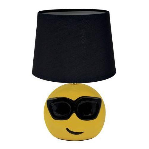 Struhm Lampa stołowa emo 1 x 40 w e14 czarna