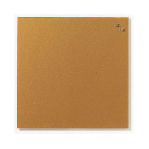 Naga Szklana tablica magnetyczna złota 45x45