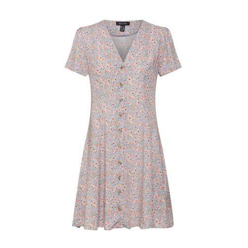 NEW LOOK Sukienka 'MELODY' jasnoniebieski / jasnofioletowy / stary róż (5045538871734)