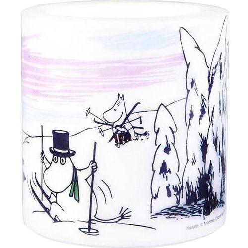 Świeca muurla muminki winter time mała (6416114963638)