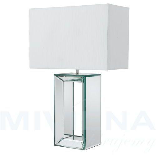 Searchlight Mirror lampa stołowa biały