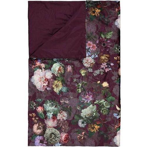 Narzuta fleur 220 x 265 cm burgundowa marki Essenza