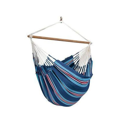 Leżak hamakowy currambera l210, niebieski / turkusowy cul21 marki La siesta
