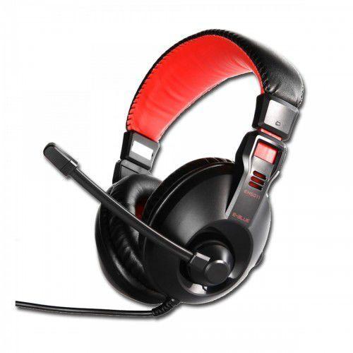 Słuchawki z mikrofonem E-Blue Conqueror I Darmowy odbiór w 20 miastach!