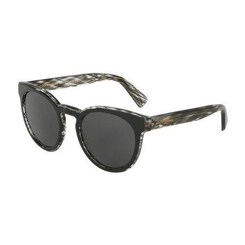 Okulary słoneczne dg4285f asian fit 305687 marki Dolce & gabbana