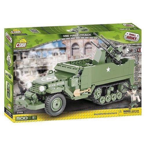 Armia M16 Half-Track Samobieżne działo przeciwlotnicze - Cobi Klocki