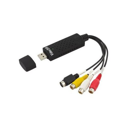 Komputerowa Karta/Przejściówka DVR (do podglądu/zgrywania sygnału na PC) Cinch-USB (1x Video+Audio)., 5900308620015