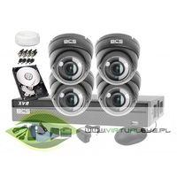 Bcs Zestaw do monitoringu: -xvr0801+ 4x kamera bcs-dmq4200ir3+ dysk 1tb + akcesoria