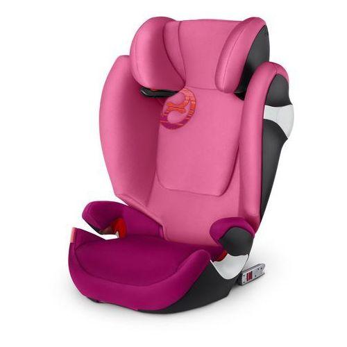 Cybex fotelik samochodowy solution m-fix 2018, passion pink (4058511218502)