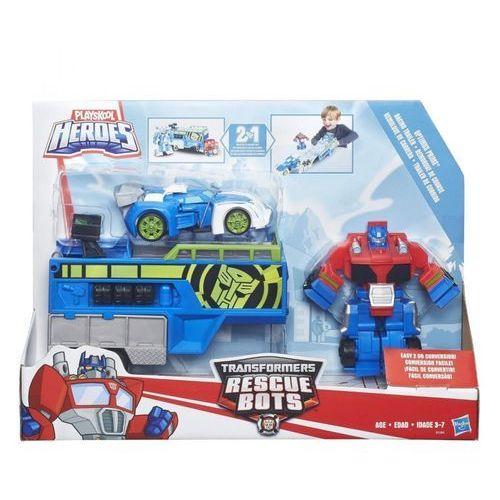 TRA Rescue Bot Optimus Prime