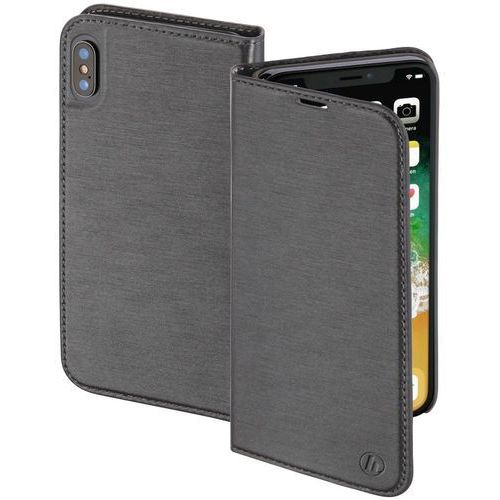 Hama Etui slim booklet do smartfona apple iphone x szary