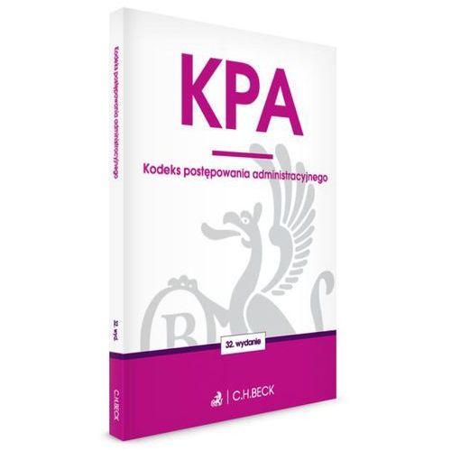 Kodeks postępowania administracyjnego + zakładka do książki GRATIS (9788325589844)