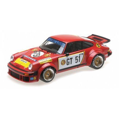 Minichamps Porsche 934 team gelo-tebernum racing #gt51 toine hezemanns egt nurburgring 300km 1976 (4012138140899)