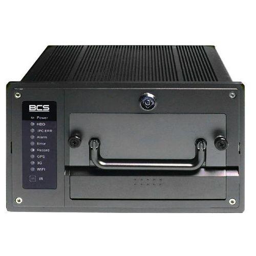 BCS-NVR0402C-P-III Rejestrator mobilny IP 4 kanałowy BCS, BCS-NVR0402C-P-III