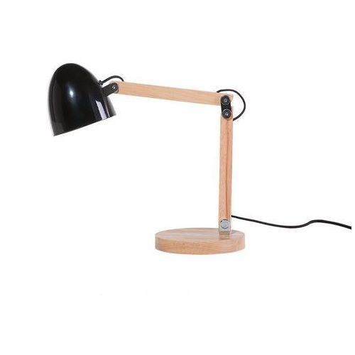 Lampa biurowa czarna - stołowa - nocna - gabinetowa - VELEKA (4260580922499)