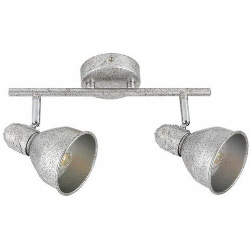 Rabalux Sufitowa lampa industrialna thelma 5387 metalowa oprawa regulowane reflektorki antyczne srebro (5998250353876)