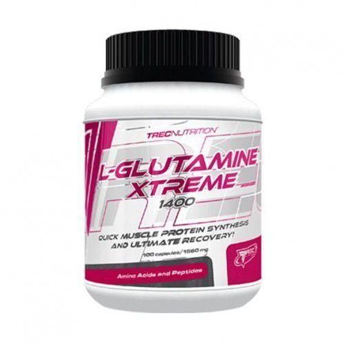 OKAZJA - TREC L-GLUTAMINE XTREME 100kaps GLUTAMINA, 0F73-853D7