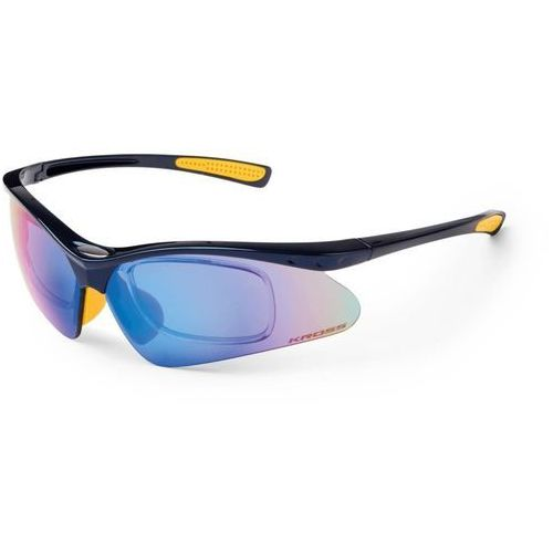 Kross Okulary dx-optic 2 wymienne szyby niebieski/żółty t4cok000014blyl