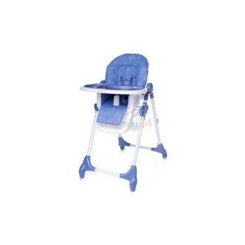 krzesełko do karmienia decco niebieskie marki 4baby