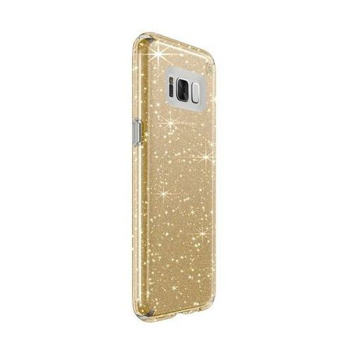 Speck Presidio Clear with Glitter - Etui Samsung Galaxy S8+ (Gold Glitter/Clear)