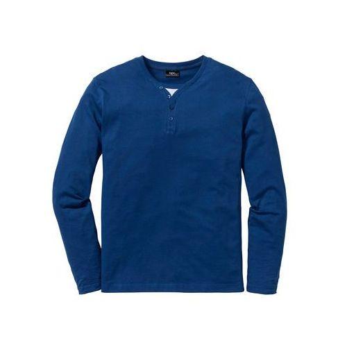 Shirt z długim rękawem 2 w 1 Regular Fit bonprix niebieski Chagall