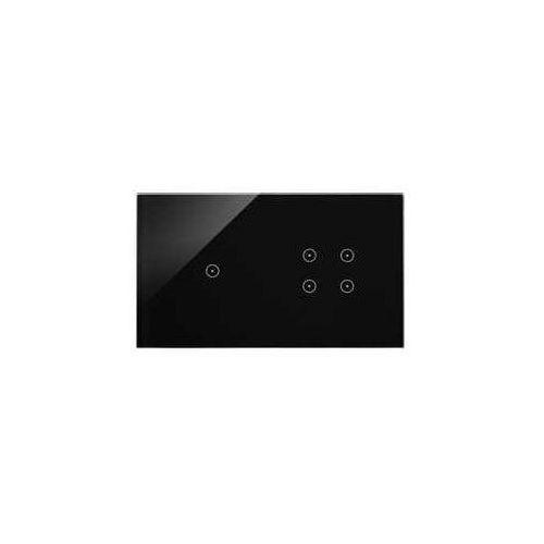 Kontakt-simon Panel dotykowy simon 54 touch dstr214/73 2 moduły 1 pole dotykowe, 4 pola dotykowe, zastygła lawa