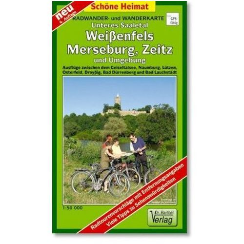 Doktor Barthel Karte Unteres Saaletal, Weißenfels, Merseburg, Zeitz und Umgebung (9783895910623)