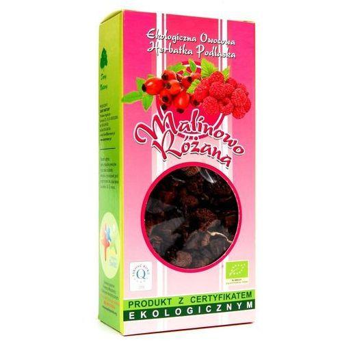 Dary natury - herbatki bio Herbatka malinowo - różana bio 100 g - dary natury
