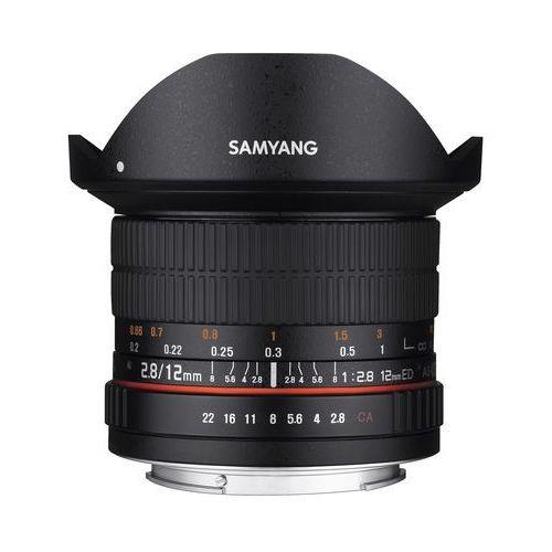 Samyang 12mm f/2.8 ed as ncs fisheye fujifilm x - produkt w magazynie - szybka wysyłka!